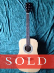 SX Dreadnought Acoustic Guitar SD1-NA - SOLD